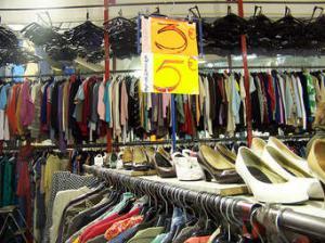 braderie vêtements