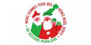 Logo Pères Noël verts