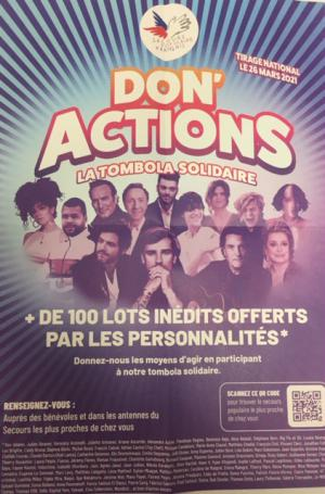 Don Action Tombola Solidaire