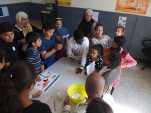 atelier santé avec les enfants
