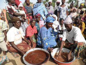 Beurre de karité au Burkina Faso