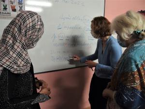 Photo cours d'Alphabétisation SPF 13