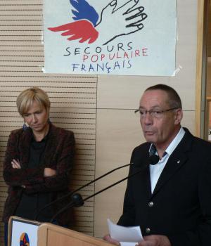 Vin d'honneur congrès départemental Bourges
