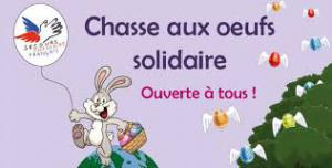 chasse aux oeufs solidaire 2018