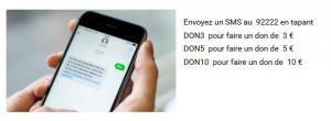 Dons par SMS