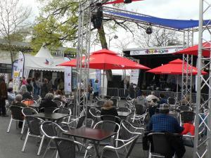 Espace Solidaire Printemps de Bourges près de la scène ouverte