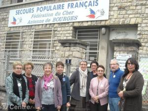 Bénévoles de l'antenne de Bourges