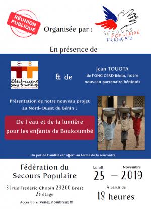 Réunion projet Bénin