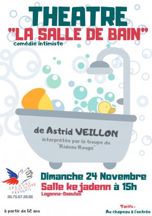 """Théâtre """"La salle de bain"""""""