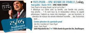 Les vendredis de l'agglo du 25  mai 2018 à  Bouillargues