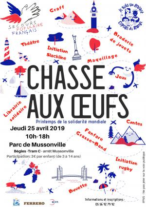 Chasse aux oeufs Gironde