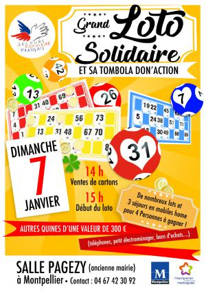 Grand loto solidaire
