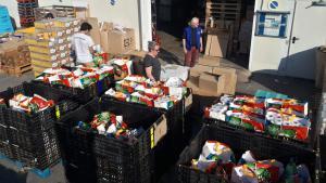 Préparation colis alimentaires Montpellier