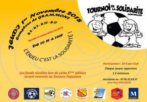 tournoi foot solidarité