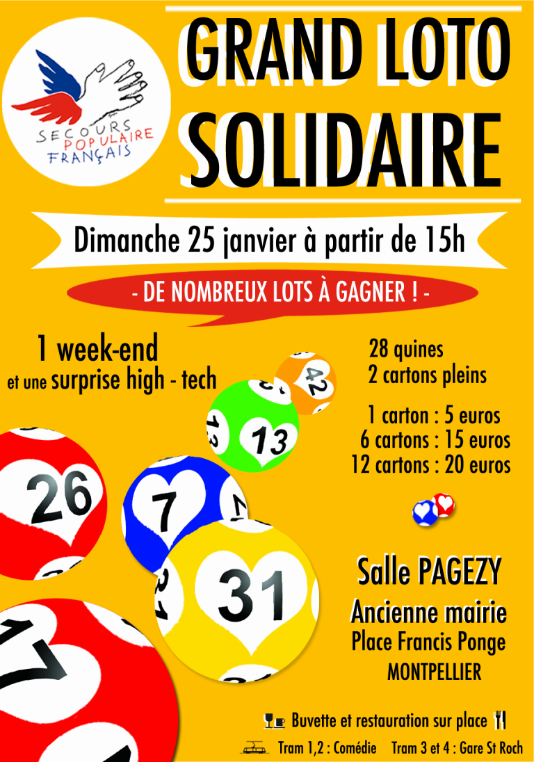 loto vaucluse 4 janvier 2015
