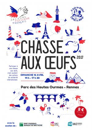 Chasse aux oeufs - 16 avril - Rennes