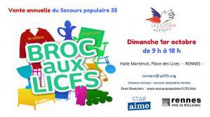 Broc aux Lices 2017 : braderie solidaire à Rennes