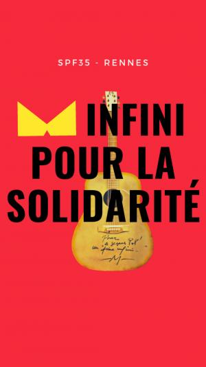 un Aime infini pour la solidarité