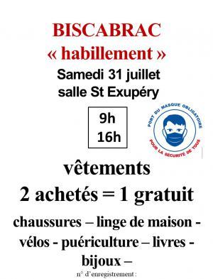 Biscabrac 31/07 Habillement