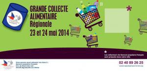 Affiche collecte Pays de la Loire 2014