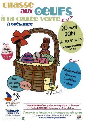 Chasse aux œufs de Guérande 2014