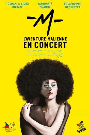 Matthieu Chedid invite le Secours populaire français sur sa tournée Lamomali pour 13 dates en novembre et décembre 2017.