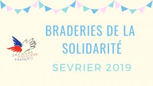 Braderies de la solidarité Sévrier