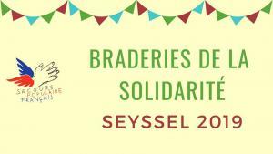 Braderies de la solidarité Seyssel