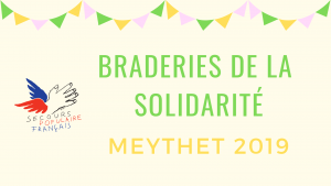 Braderies de la solidarité Meythet