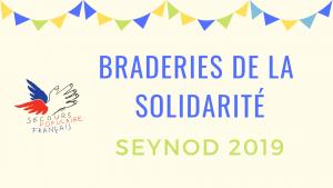 Braderies de la solidarité Seynod