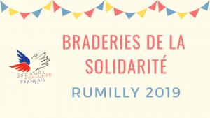 Braderies de la solidarité Rumilly
