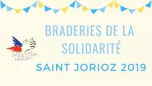 Braderies de la solidarité Saint Jorioz