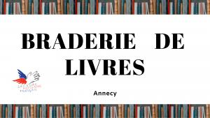 Braderie de livres : Annecy
