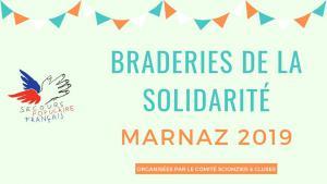 Braderies de la solidarité Marnaz : nouveau