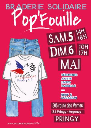 Pop'Fouille Affiche