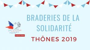 Braderies de la solidarité Thônes