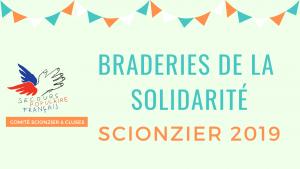 Braderies de la solidarité Scionzier