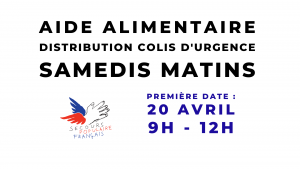 Distribution alimentaire d'urgence