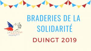 Braderies de la solidarité Duingt