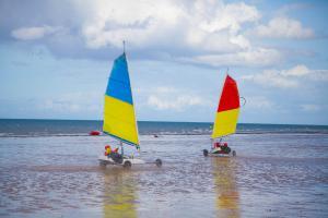 A Grayes-sur-Mer, les activités étaient nombreuses. Et, divertissantes.