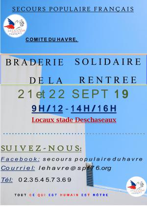 Braderie le Havre 2019