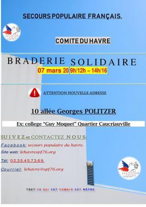 Braderie le Havre 2020