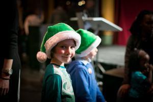 Pères Noël verts : soirée de lancement du 5 décembre 2016 au musée des arts forains