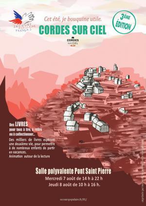 Affiche_Cet_ete_je_bouquine_2019_Cordes