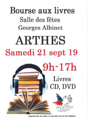 Bourse aux livres ARTHES