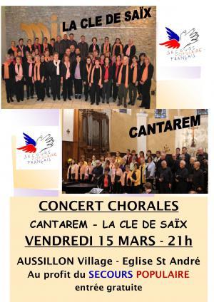 Concert Chorales Aussillon