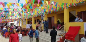 Inauguration école Népal