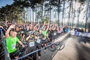 La 3e édition de la course solidaire Run & Bike aura lieu cet été. Ici, l'édition 2015 avait rassemblé 2000 participants.