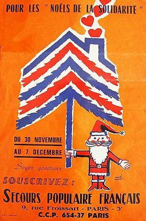 Affiche Noël, 1964