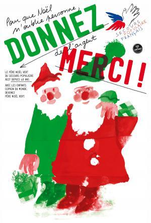 Affiche Pères Noël verts, 2016